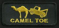 CAMEL TOE Humor Funny Comical OUTLAW Motorcycle Biker vest jacket  Patch