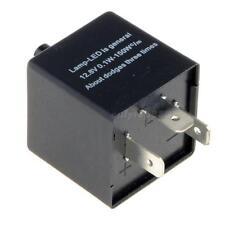 Electronic LED Flasher Relay 3 Pin 12V Motorcycle Turn Singal Adjustable OT8G