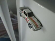 HOTWHEELS FLAKE WHITE MAZDA RX-7 Refrigerator Magnet - Used! Loose!