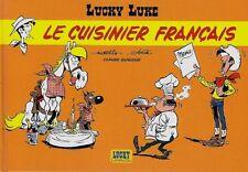 EO HC PUBLICITAIRE MORRIS + ACHDÉ + GUYLOUIS : LUCKY LUKE, LE CUISINIER FRANÇAIS