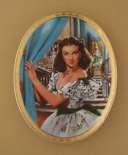 Gone With The Wind CAMEO MEMORIES Oval Plate THE JEWEL OF THE SOUTH #1 + COA