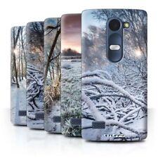 Matte Rigid Plastic Cases & Covers for LG Leon