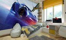 Disney wallpaper mural for Boy's bedroom Cars 3 characters photo wall art decor