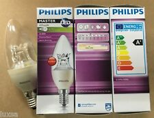PACKs Philips Master LED Candle 6W 6 Watt E14 LED light bulb dimmable ses