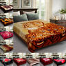 Heavy Thick 2 Ply Blanket Double Sided Winter Warm Fleece King Size Bed Throw