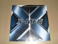 X-MEN MARVEL   flyers 8 pages 2000 Bryan Singer