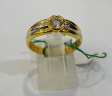 SOLITARIO ORO 18KT DIAMANTE CT 0.51 IGI DAMIANI ring gold diamond