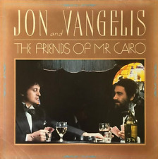 JON AND VANGELIS ‎- The Friends Of Mr. Cairo (LP) (EX/VG-)