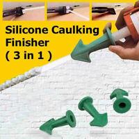 3 In 1 Silicone Caulking Finisher Sealant Tool Nozzle Spatulas Filler Spreaders
