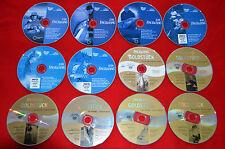 12 Angel-DVD Fisch & Fang 2009 CD-Sammlung Aal Forelle Hecht Karpfen Wels Zander