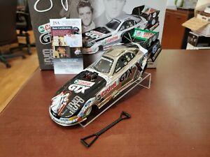 2002 John Force Autographed Castrol GTX/ Elvis 25th JSA 1:24 NHRA Funny Car MIB