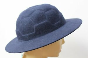 COMME DES GARCONS BOY WOOL BOATER HAT, BNWT, WILL FIT WOMAN'S HEAD