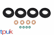 O.E FORD FUEL INJECTOR SEAL + WASHER + O RING SET FORD TRANSIT MK7 2.2 2.4 TDCi
