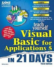 Sams Teach Yourself Visual Basic for Applications 5 in 21 Days