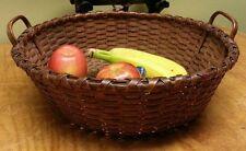 Antique AAFA Primitive Basket Top Notch 1850