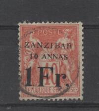 ZANZIBAR (Bureau Français) - n° 16 oblitéré - C: 580,00 €
