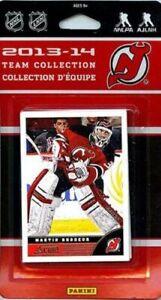 New Jersey Devils 2013 2014 SCORE Factory Sealed Team Set  Martin Brodeur Plus