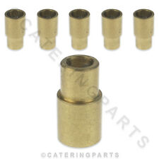 6 Pack Of 8mm x 6mm Female Copper Solder Ring Pipe Reducing Coupling Fittings