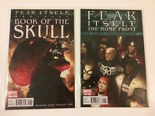 Fear Itself Book Of Skull #1 The Home Front #1 Marvel Comics (2011) lot of 2