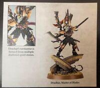 Warhammer 40K - Blood of the Phoenix - Drukhari Drazhar - Master of Blades
