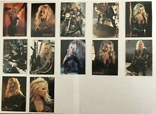 Pam Anderson Barb Wire Complete Embossed Chase Set of Trading Cards (12)