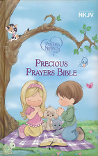 NKJV Precious Moments Precious Prayers Bible, Padded Hardcover BRAND NEW!!!