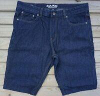 Men`s Ex-Store Denim Shorts Size 32 34 36 38 40 42 Cut Off Jeans