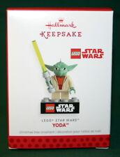HALLMARK ORNAMENT 2013 YODA-----LEGO STAR WARS
