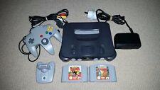 Nintendo 64 N64 Console + Pokemon Stadium + Snap + Transfer Pak