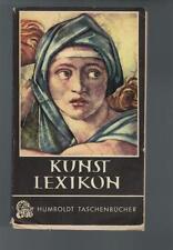 Kunst Lexikon - Emerich Schaffran - 1953
