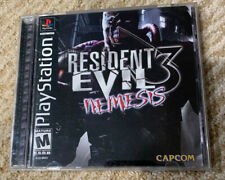 Resident Evil 3: Nemesis (PlayStation 1, 1999) PS1 Tested, Working, Complete!