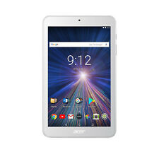 """Acer Iconia One 8 B1-870 8"""" Tablet 1.3GHz 1GB 16GB 5MP Android 7.0 White"""