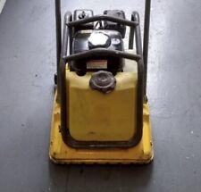 Wacker Wp1550 Walk Behind Vibratory Plate Compactor