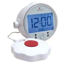 Bellman & Symfon Alarm Clock Pro with LED Flashing Lights & Bed Shaker for Deaf