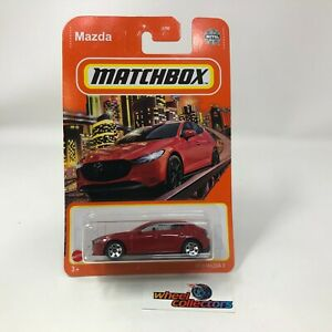 2019 Mazda 3 #41 * RED * 2021 Matchbox Case Y * HB32