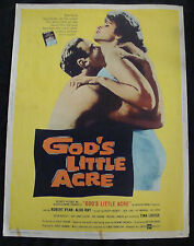 GODS LITTLE ACRE movie poster B TINA LOUISE ROBERT RYAN giant 30x40