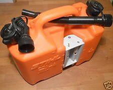 Genuine Stihl Carburante Combi può Arancione 5 litri di carburante 3 LITRI OLIO CATENA registrati POST