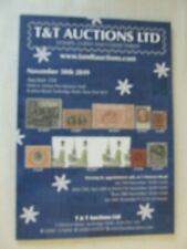 T & T Stamp Auction Catalogue - November 2019