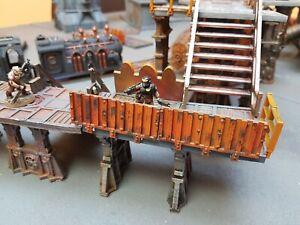 Industrial barriers - Necromunda, killteam sector mechanicus