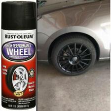 Automotive Aluminum Wheel Spray Paint Smooth Finish Matte Black Clear Car Coat
