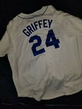 1989 Ken Griffey Jr Seattle Mariners Mitchell & Ness Authentic Jersey - White