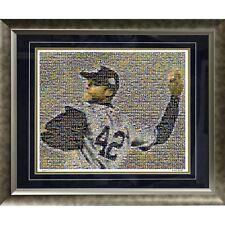 Mariano Rivera Mosaic Framed 20x24 Photograph - LE # 42 /1,000 Steiner Sports