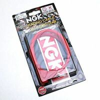 ANTIPARASITE NGK RACING CR4 COUDE pr  BOUGIE AVEC OLIVE