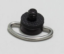"""100pcs 1/4"""" D ring camera screw with rubber gasket for tripod and QR  plate"""