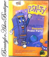 Psalty's Funtastic Praise Party Kids Christian Fun Singalong Song Stage Show DVD