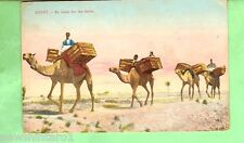 #A. EGYPT  MILITARY POSTCARD -  1918, ON ACTIVE SERVICE, TO THE FIELDS