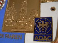 PLACCA ADAC 1. carta di Norimberga AUTOMOBILE CLUB 1919 Franchi andare 1975 AUTO CORSA