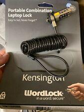 KENSINGTON WORDLOCK Laptop Security  NEW