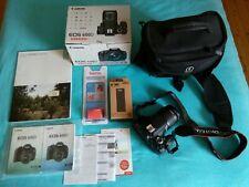 Spiegelreflexkamera Canon EOS 600D EF-S 18-55 IS ii Kit gebraucht