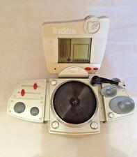 mtv tracktrix electronic game Hand Held Electronic gaming MTV DJ game Vintage
